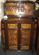 antique chinese style wine cooler